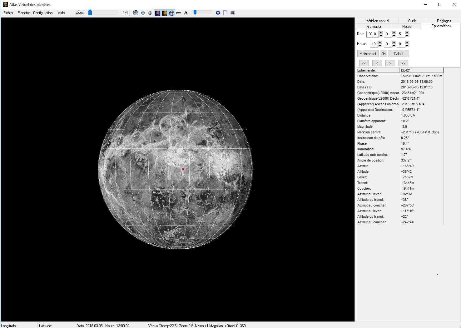 Petit Tuto : L'atlas Virtuel des Planètes Atlas310