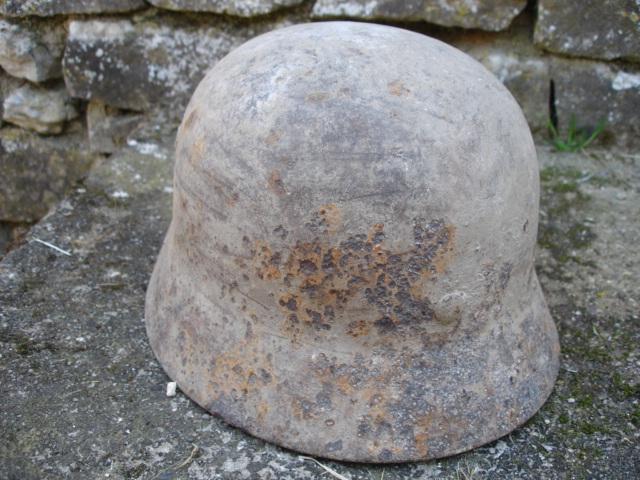casque allemand et casque dca jus de grange Dsc08251