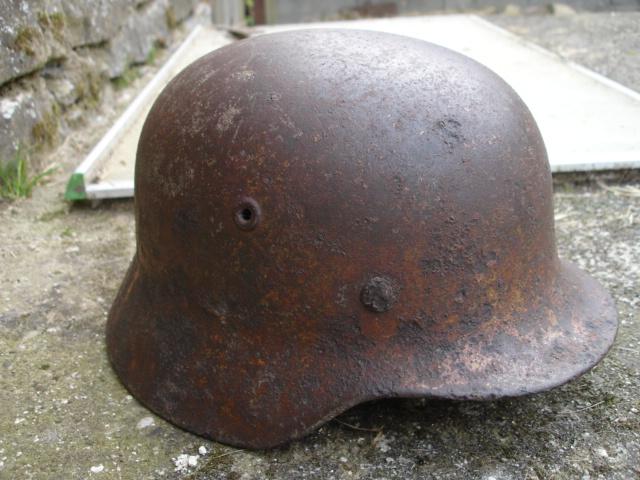 casque allemand et casque dca jus de grange Dsc08253