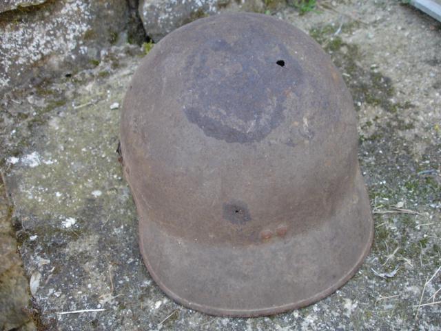 casque allemand et casque dca jus de grange Dsc08257