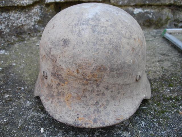 casque allemand et casque dca jus de grange Dsc08258
