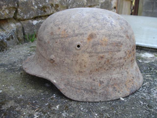 casque allemand et casque dca jus de grange Dsc08262