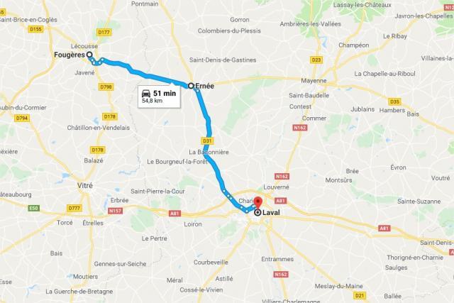 La ligne de car TER Fougères-Laval sera bientôt à l'arrêt  La-lig11