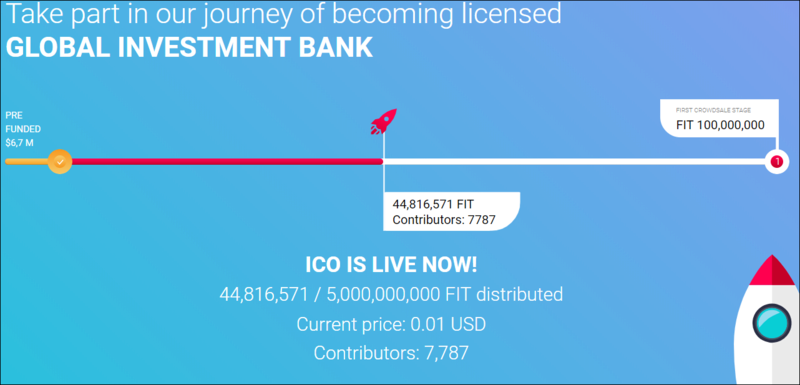 Mi hoja de ruta en el Proyecto Fast Invest token ( FIT). **CERRADO*** Captu116