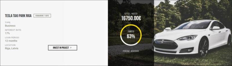 Proyecto Tesla Taxi Park Riga ( Proyecto Finalizado Rent 17% TIR total 18.15%) **CERRADO** Mejor_48