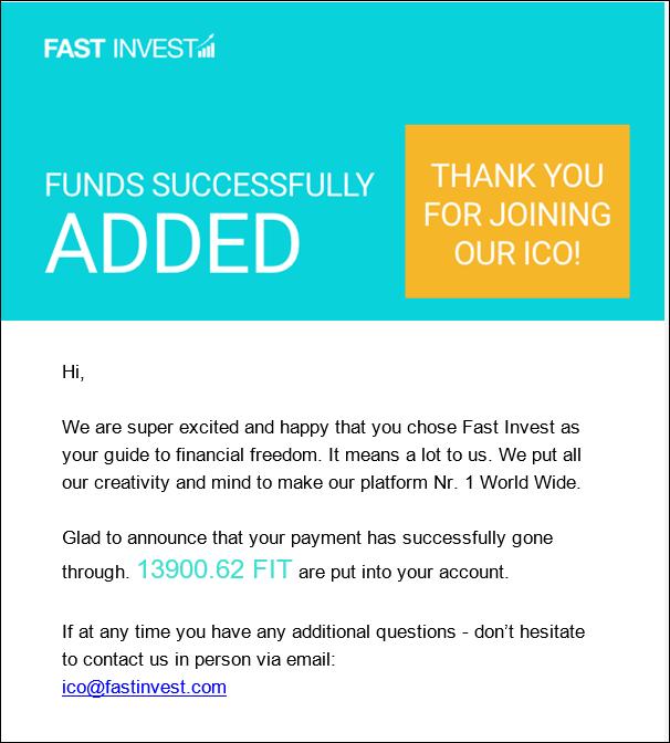Mi hoja de ruta en el Proyecto Fast Invest token ( FIT). **CERRADO*** Orden_56