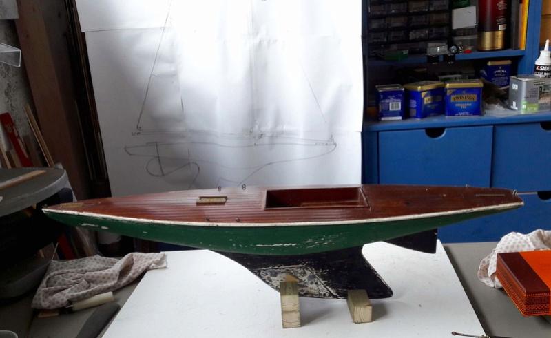 Model Racing Yacht 20180312