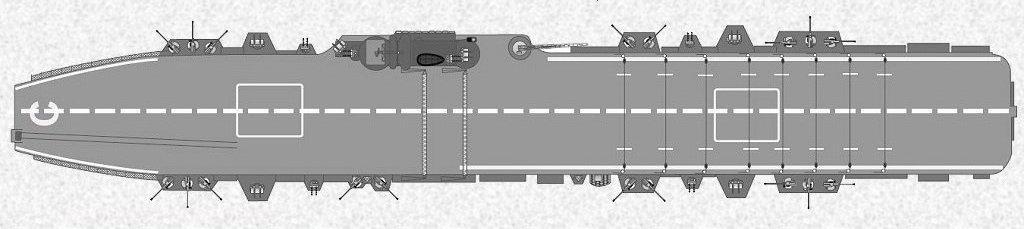 NAeL Minas Gerais base Arromanches/Colossus 1/400 Heller 1410