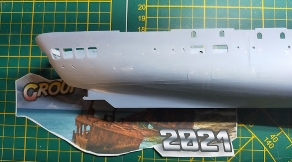 Porte-avions Minas Gerais « the end in Alang »  sur base Arromanches Heller 1/400 2511