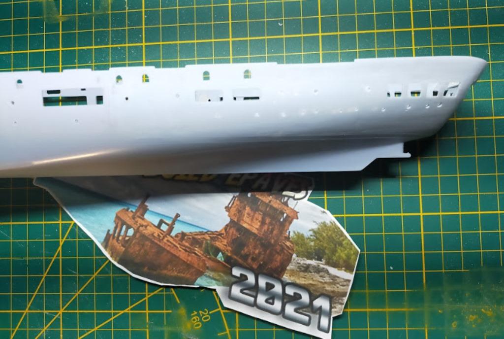 Porte-avions Minas Gerais « the end in Alang »  sur base Arromanches Heller 1/400 2910