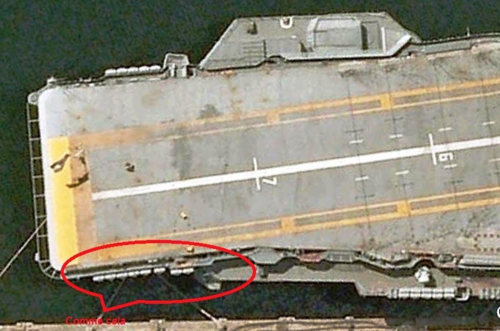 Porte avions SAO PAULO Heller 1/400 sur base Foch/Clemenceau + PE + scratch  - Page 3 60b10