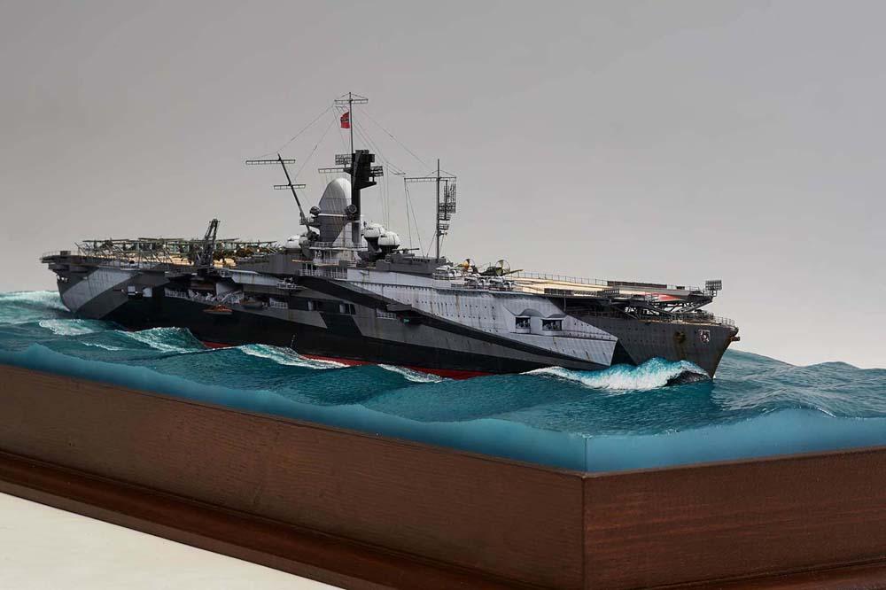 HMS Ark Royal, le naufrage Graf-z10