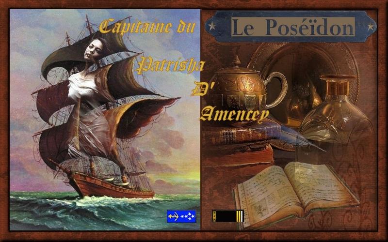 livre de bord du Poséïdon