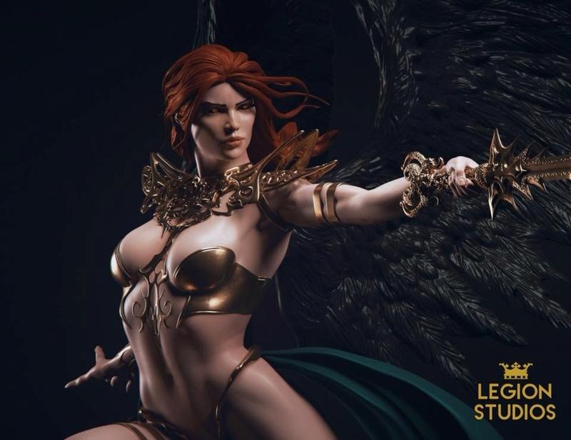 Vara, The Angel of Death - Legion Studios 11010a10