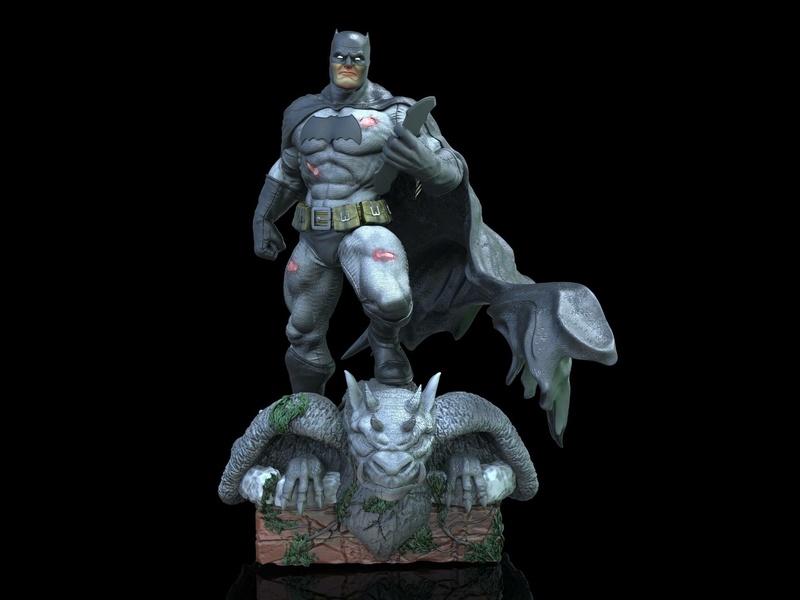 Gaetano Nicassio - BATMAN Dark Knight 1aea3010