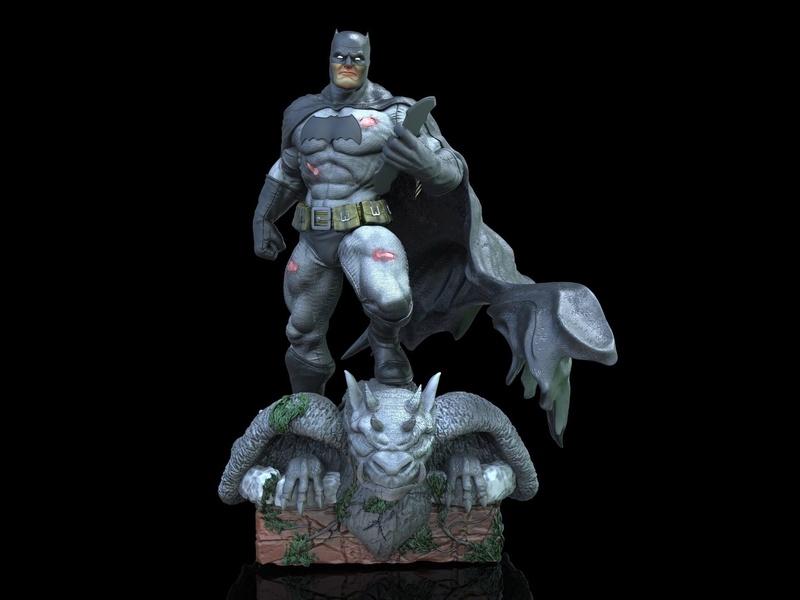 Gaetano Nicassio - BATMAN Dark Knight 30aad510