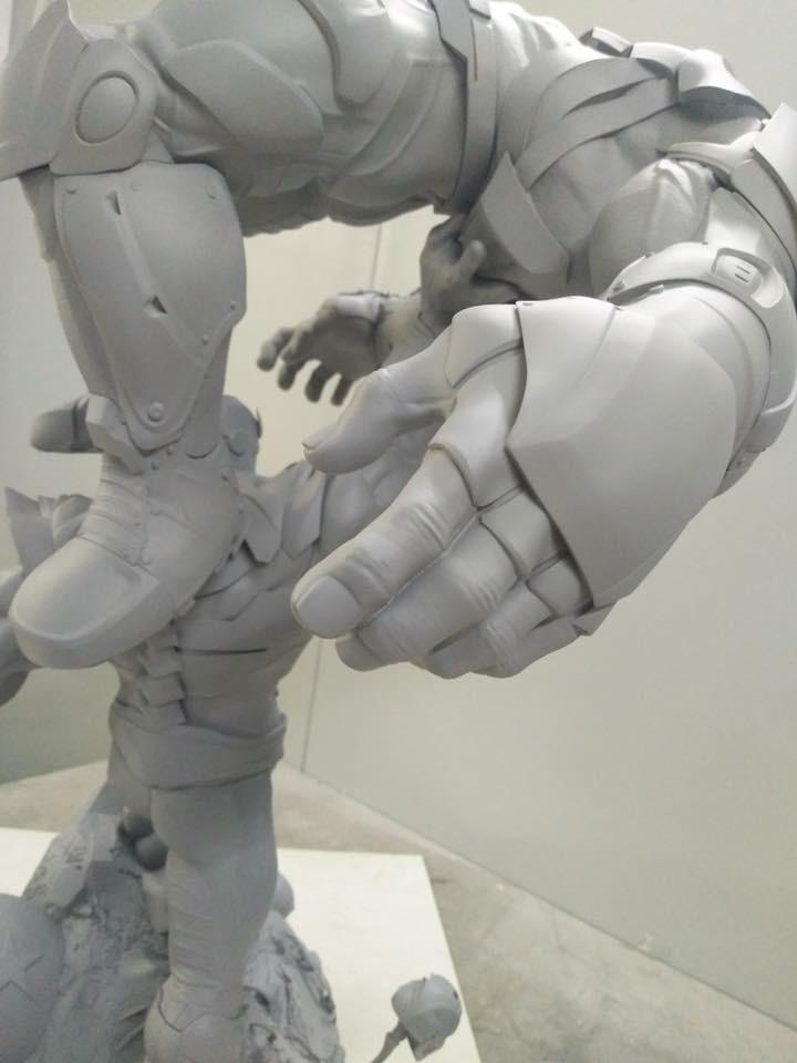 Xionart - Thanos Vs Hulk diorama 40904510