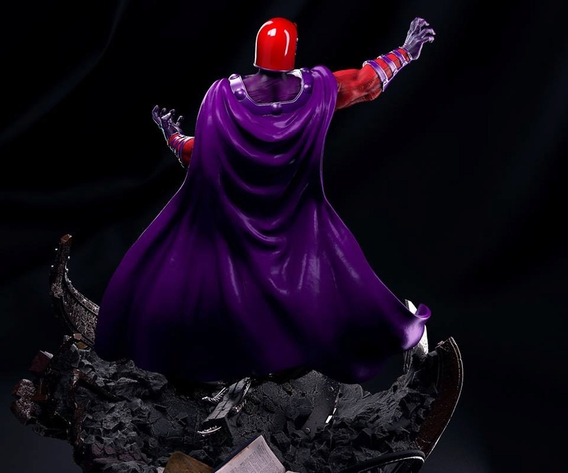 Mac Custom Statues - Magnéto  55ccab10