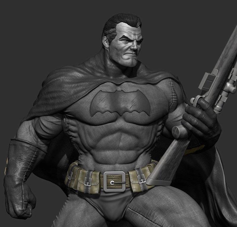 Gaetano Nicassio - BATMAN Dark Knight 5a641b10