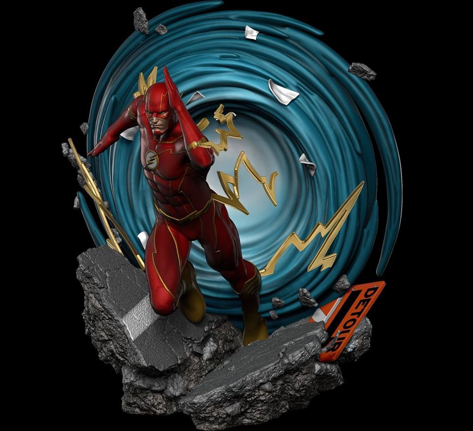 Premium Collectibles : JLA Flash 1/6**   7a7a0a10