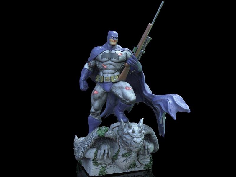 Gaetano Nicassio - BATMAN Dark Knight 7b7f4410