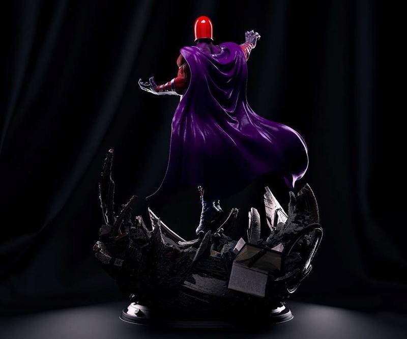 Mac Custom Statues - Magnéto  7bd21e10