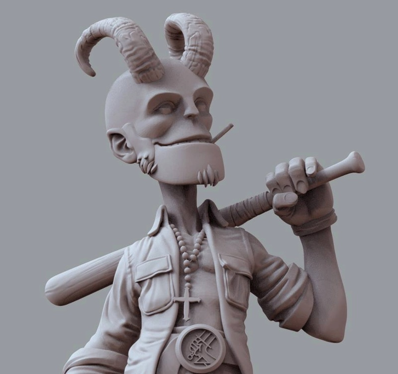 Victor Toledano - Teen Hellboy 84759010