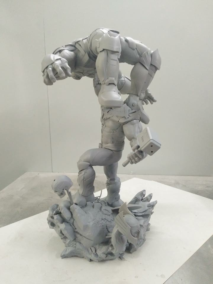 Xionart - Thanos Vs Hulk diorama 9280e510