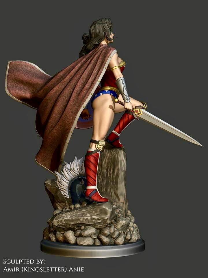 Icebreaker Designs - Wonder Woman Ad178710