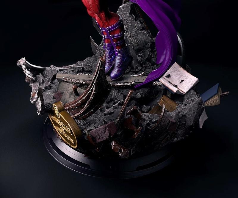 Mac Custom Statues - Magnéto  Bde32610