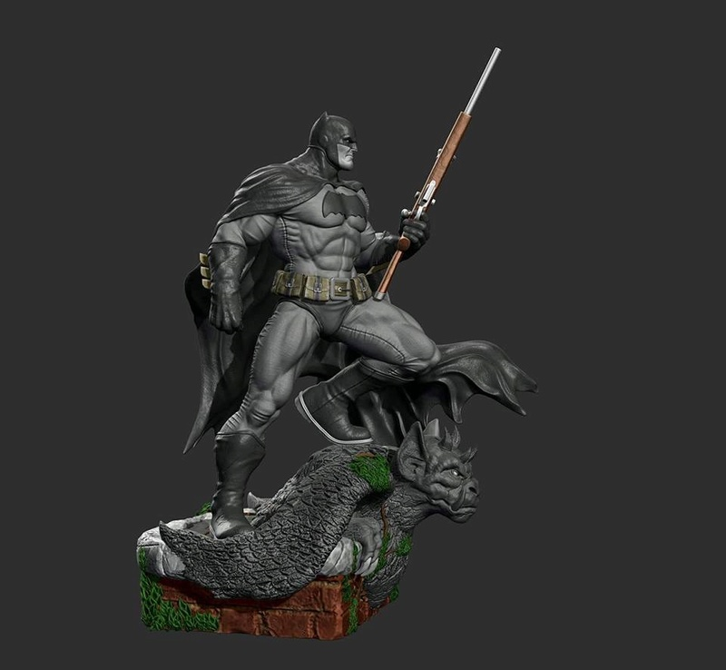 Gaetano Nicassio - BATMAN Dark Knight Ce08f910