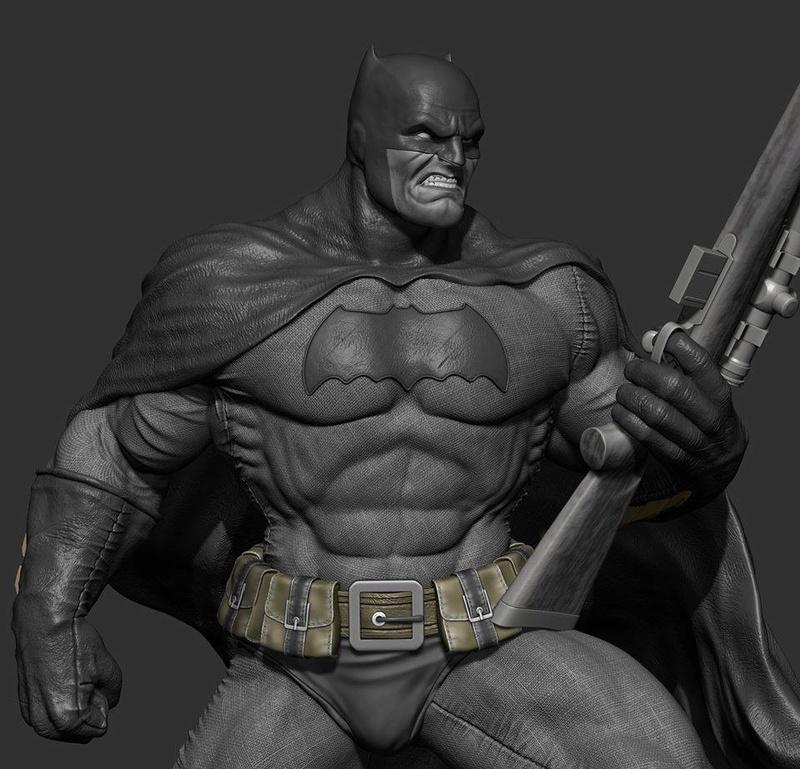 Gaetano Nicassio - BATMAN Dark Knight D0f6f710