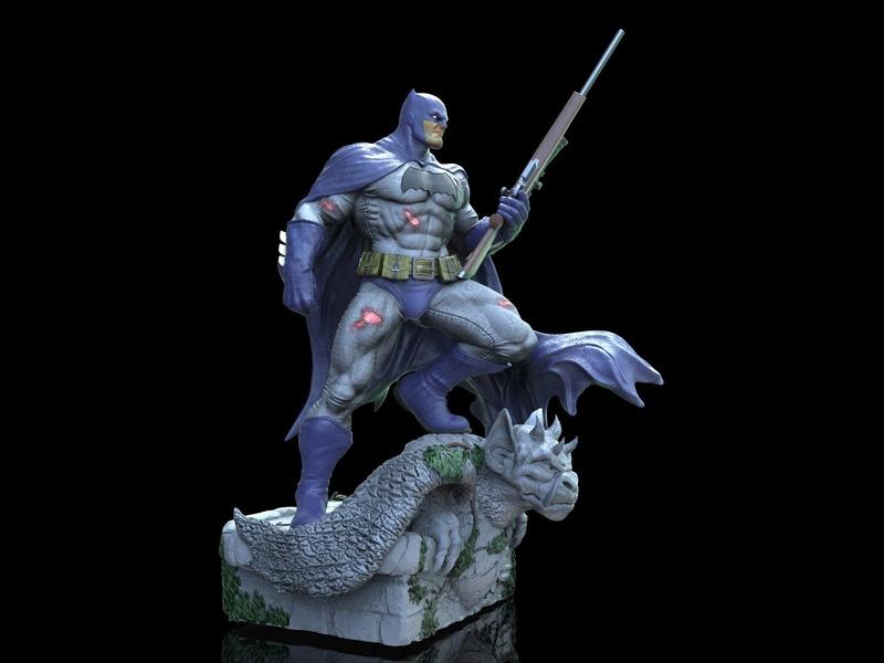 Gaetano Nicassio - BATMAN Dark Knight De898210