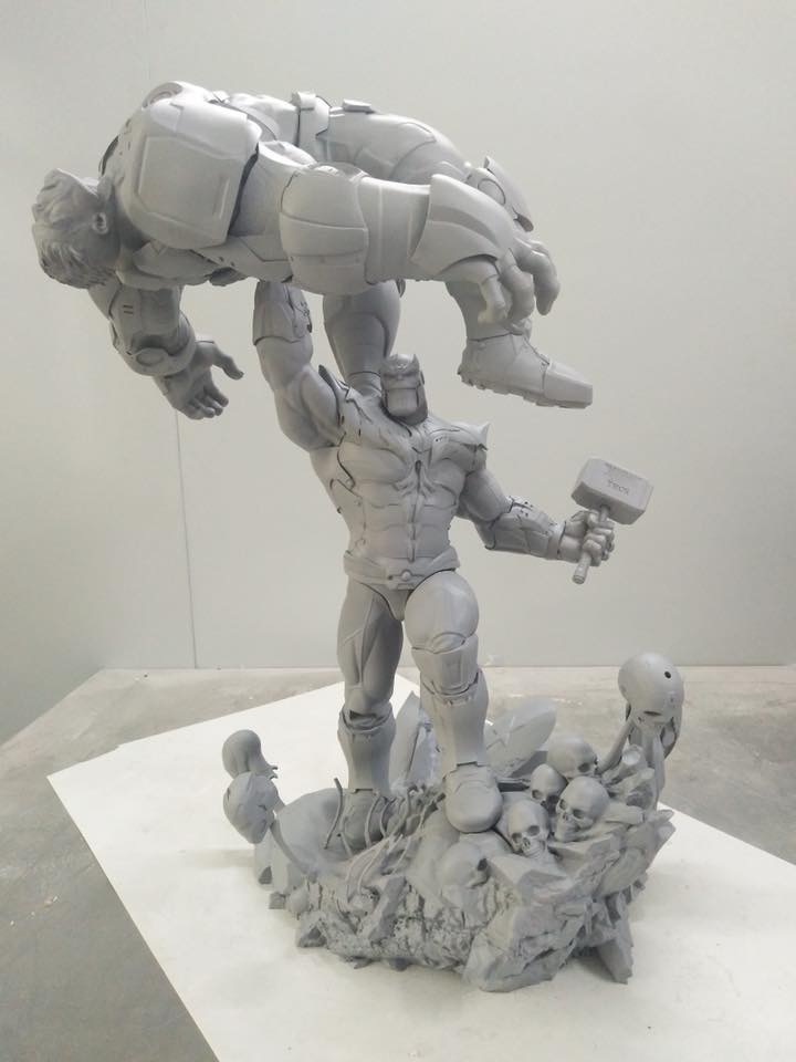 Xionart - Thanos Vs Hulk diorama Ede68b10