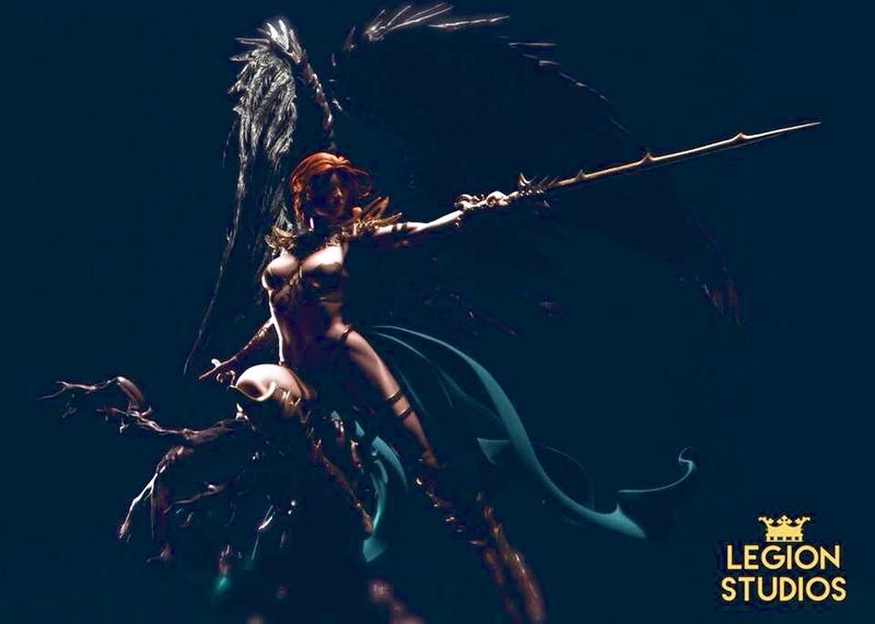 Vara, The Angel of Death - Legion Studios F8d97a10