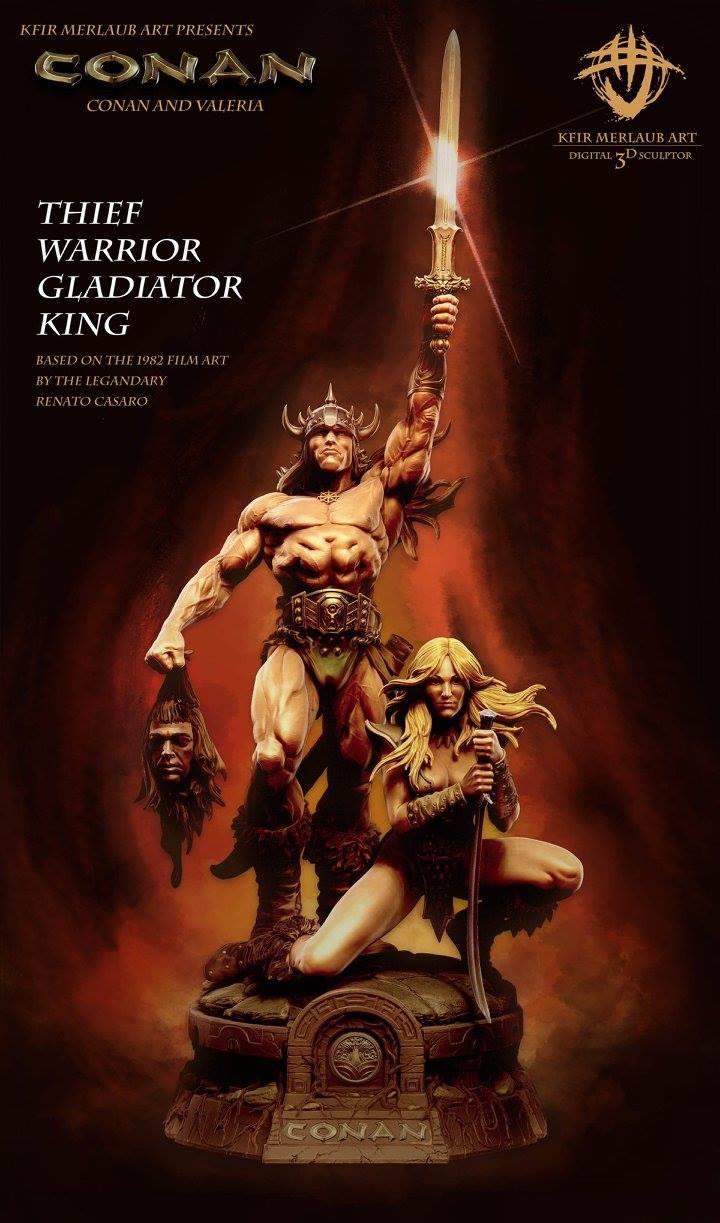Thief warrior gladiator king - Conan & Valeria Image19