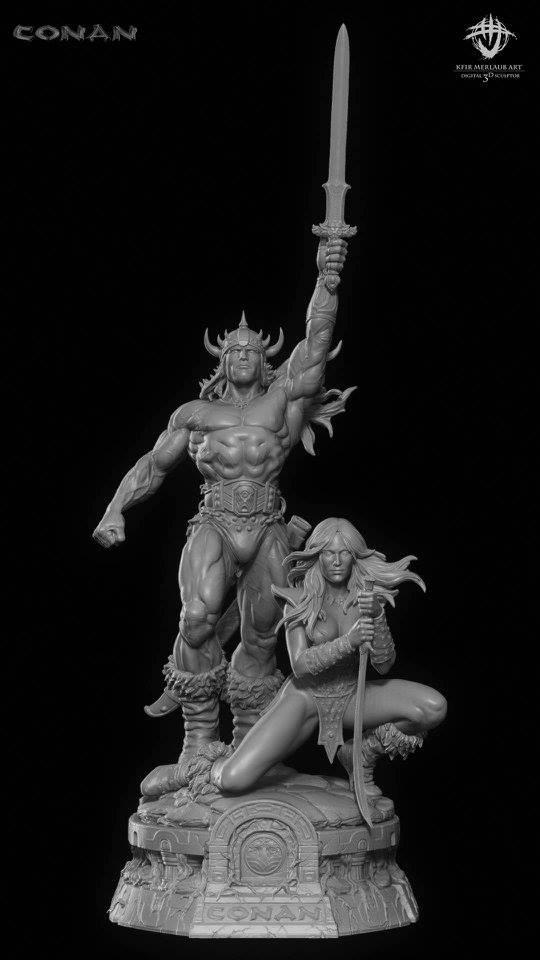 Thief warrior gladiator king - Conan & Valeria Image20