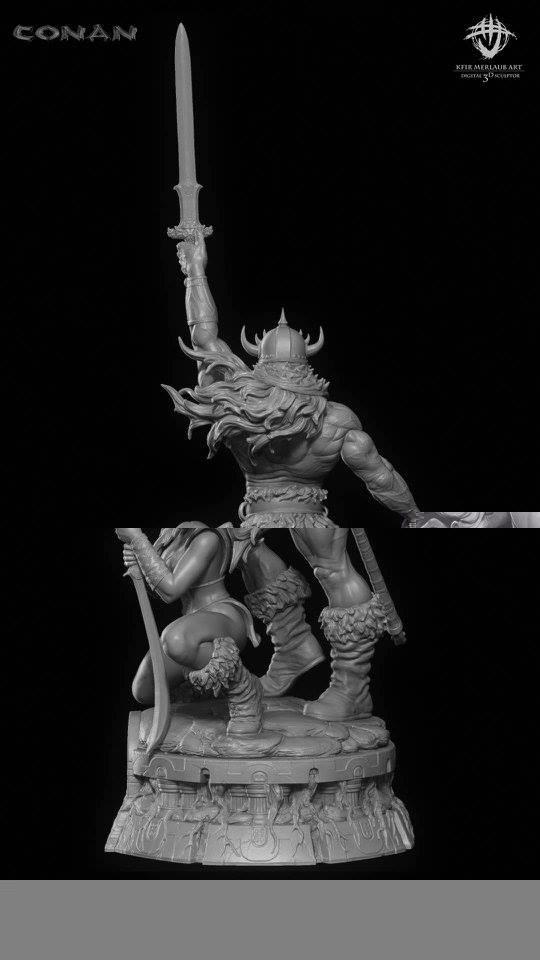 Thief warrior gladiator king - Conan & Valeria Image21