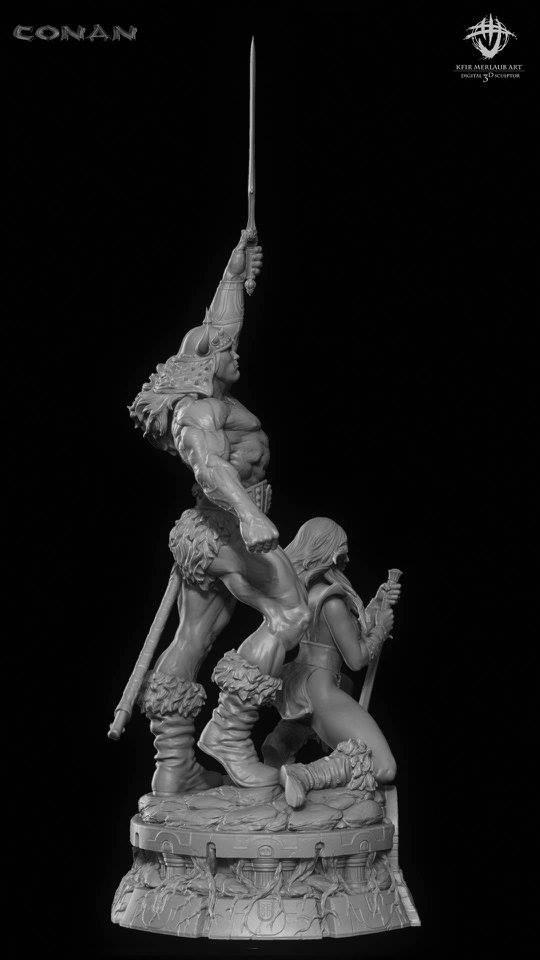 Thief warrior gladiator king - Conan & Valeria Image23