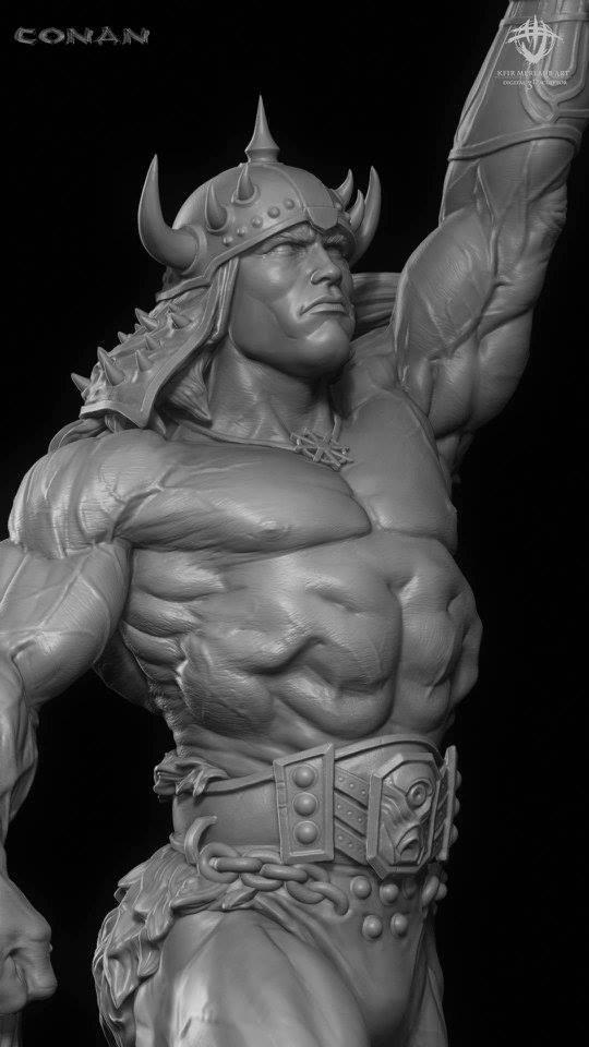 Thief warrior gladiator king - Conan & Valeria Image26