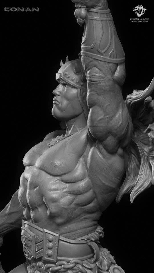 Thief warrior gladiator king - Conan & Valeria Image27