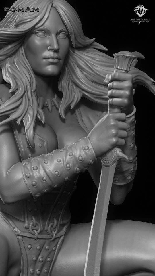 Thief warrior gladiator king - Conan & Valeria Image29