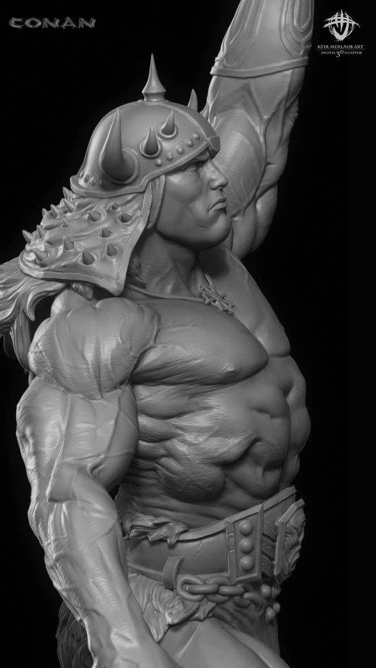 Thief warrior gladiator king - Conan & Valeria Image30