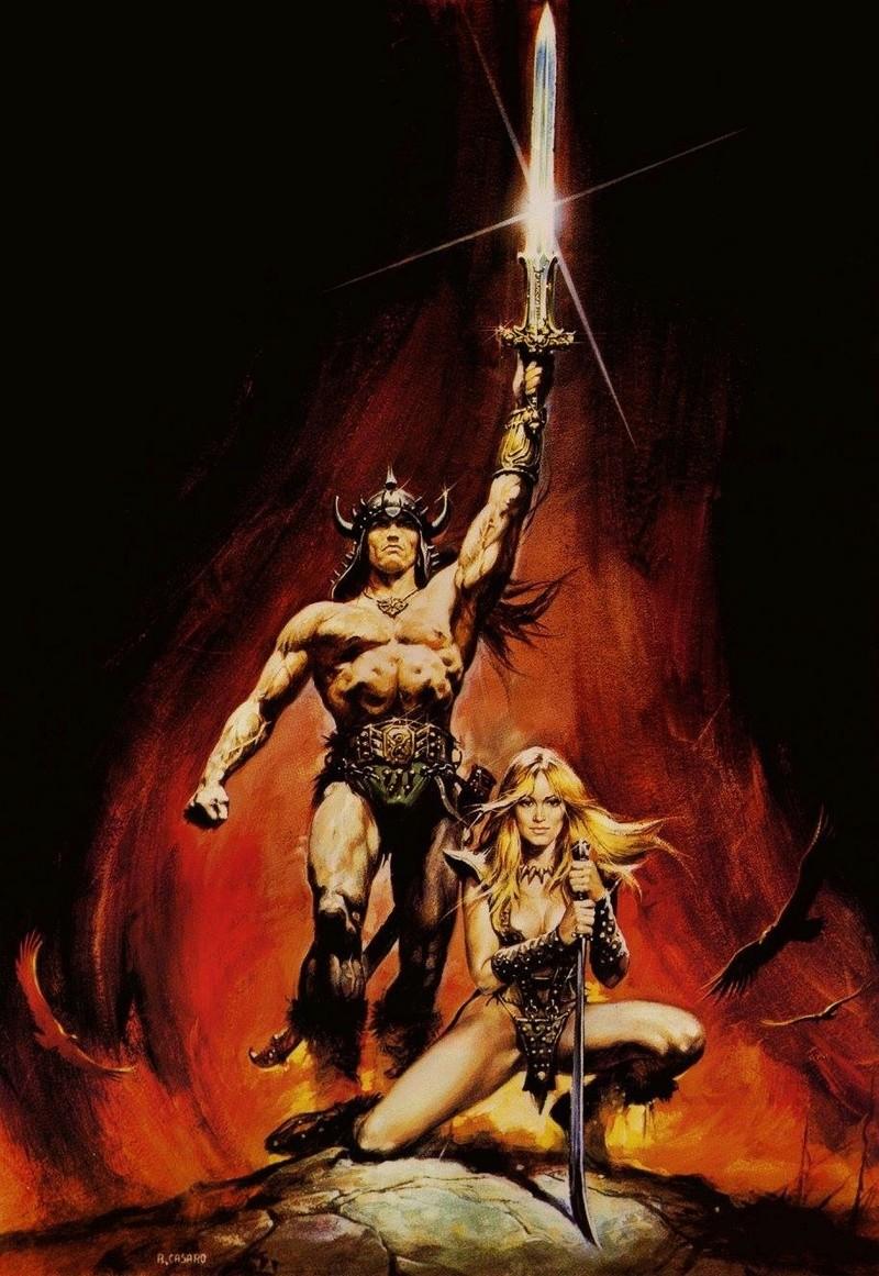 Thief warrior gladiator king - Conan & Valeria Image31