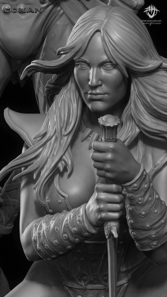 Thief warrior gladiator king - Conan & Valeria Image32