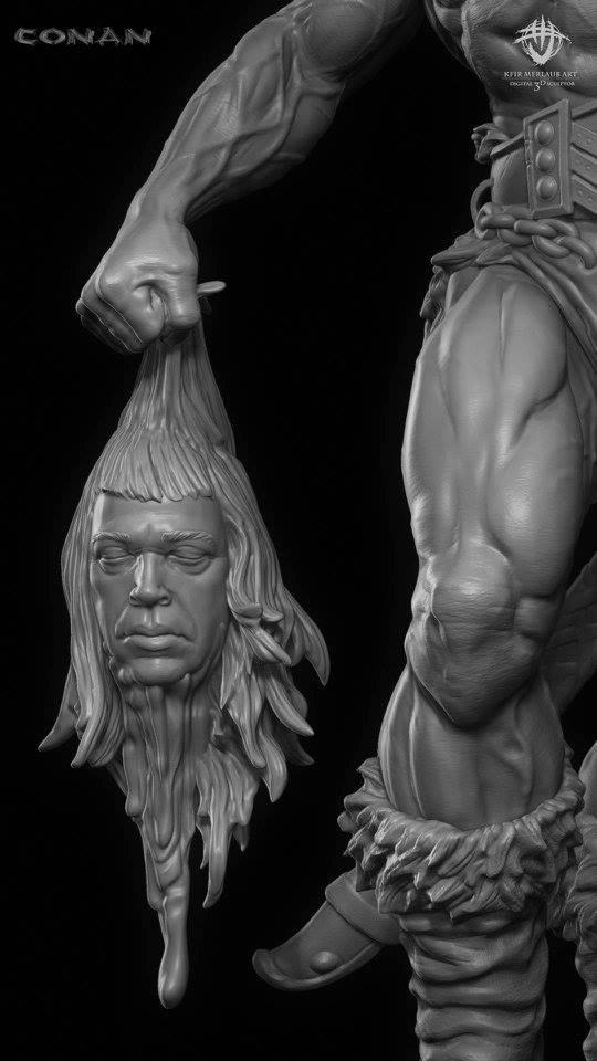 Thief warrior gladiator king - Conan & Valeria Image33
