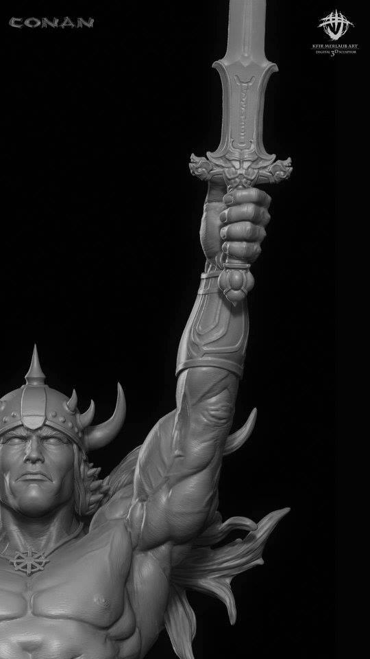 Thief warrior gladiator king - Conan & Valeria Image34