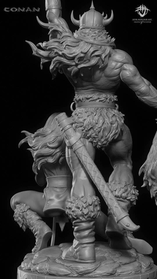 Thief warrior gladiator king - Conan & Valeria Image35
