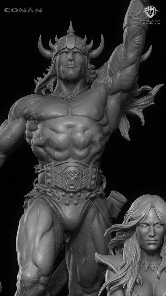 Thief warrior gladiator king - Conan & Valeria Image37