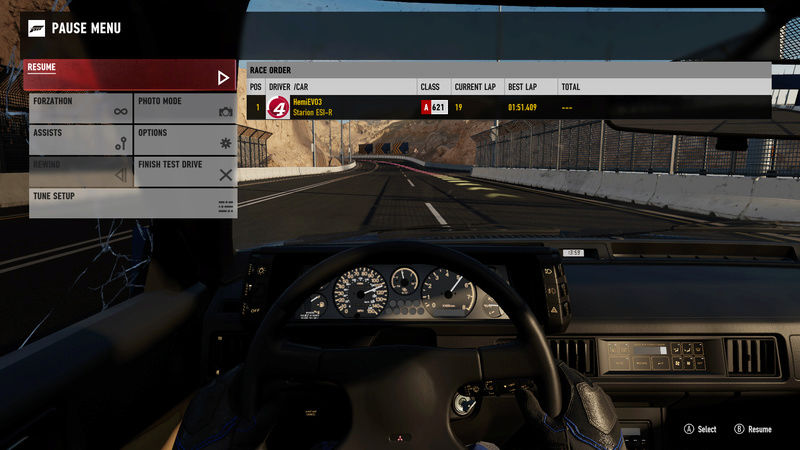 FM7 Time Attack | 300 HP (FWD/RWD) - Dubai Mountain Circuit 11-12-10